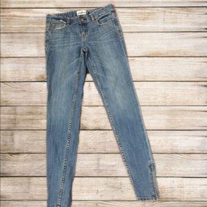 Aeropostale Ashley Ultra Skinny Jeans w/ankle zip